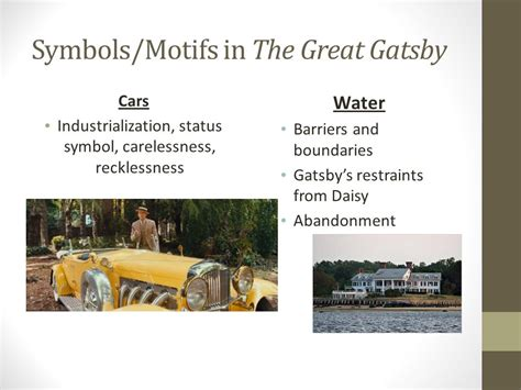 symbolism in the great gatsby daisy and the color white f scott fitzgerald s the great gatsby ppt download