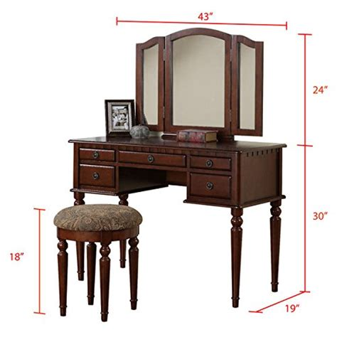 vanity set with table mirror and stool bedroom makeup vanity set with mirror and stool vintage antique makeup