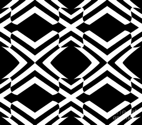 pattern artist black and white pattern black white op art no 292 digital art by drinka