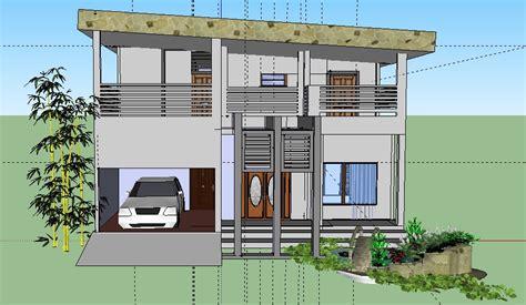 tutorial google sketchup desain rumah desain rumah bertingkat menggunakan google sketchup