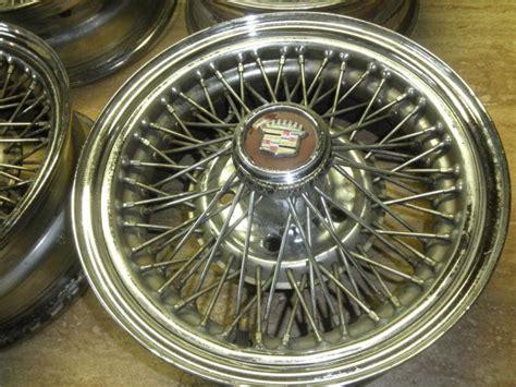 Cadillac Wire Rims by Original Cadillac Wire Wheels