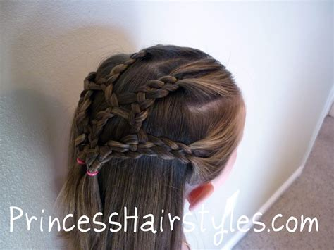 4 Strand Braided Net   Hairstyles For Girls   Princess Hairstyles