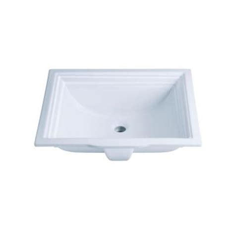 Kohler Memoirs Undermount Bathroom Sink In White K 2339 0