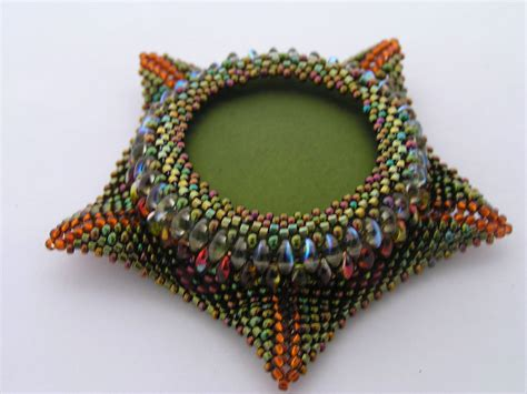 beadwork brooch brooch contemporary geometric beadwork