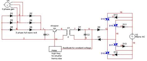 grid tie inverter diagram grid tie inverter schematic projects electrical india