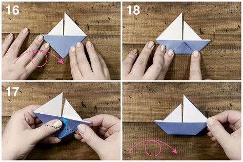 origami little boat instructions learn how to make a cute origami sail boat