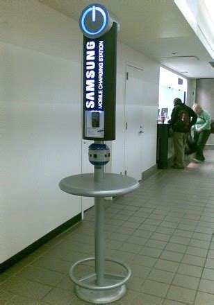 samsung brings mobile charging stations  msp airport