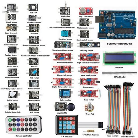 Learn Electronics With Arduino An Illustrated Beginner S Ebook uno r3 basic starter learning 37x sensor module board kit for arduino alex nld