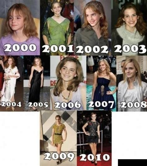 emma watson tv shows evolution of emma watson www funny pictures blog com