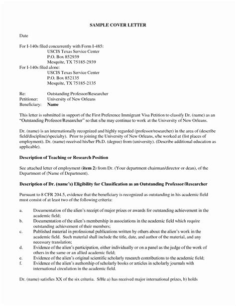 Cover Letter For Adjustment Of Status Application by Cool Cover Letter For Adjustment Of Status Application