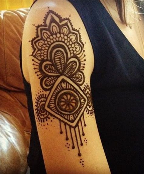 shoulder henna henna pinterest shoulder henna