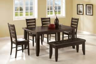 Dining Room Sets With Bench Dining Room Set With Bench Home Design Ideas
