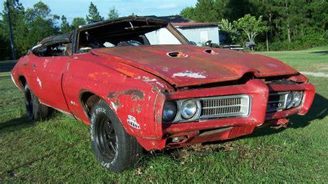Garage Door Stickers judge ment day 1969 pontiac gto