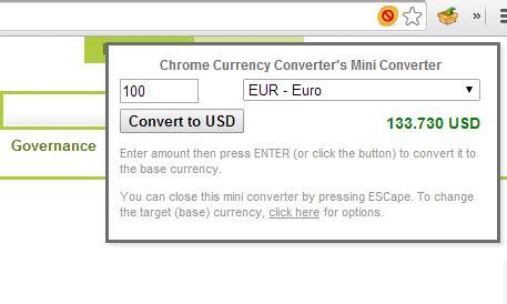 currency converter chrome extens 245 es para o google chrome tecnologia cultura mix