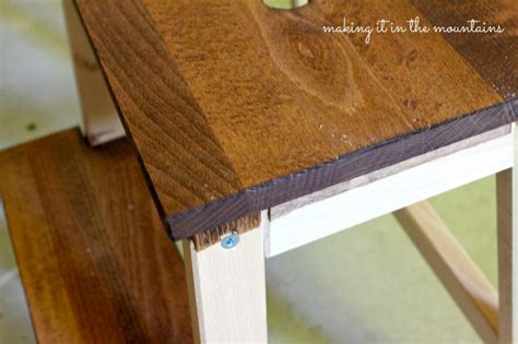 a quick and easy ikea step stool makeover a quick and easy ikea step stool makeover