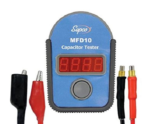capacitor tester malaysia authentic supco mfd10 digital capacitor tester with led display 0 01 to 10000mf range 5