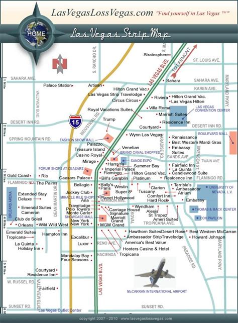 printable map vegas strip 13 best images about maps on pinterest