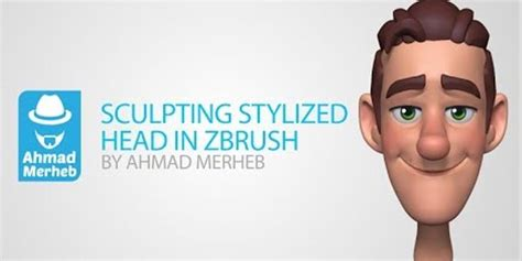head sculpting tutorial in zbrush zbrush tutorial stylized head sculpting by ahmad merheb