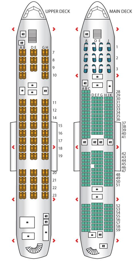 a380 800 korean air seat maps reviews seatplans