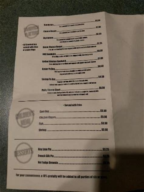 Top Of The Hub Bar Menu by Photo3 Jpg Picture Of Hub S Hickman Tripadvisor