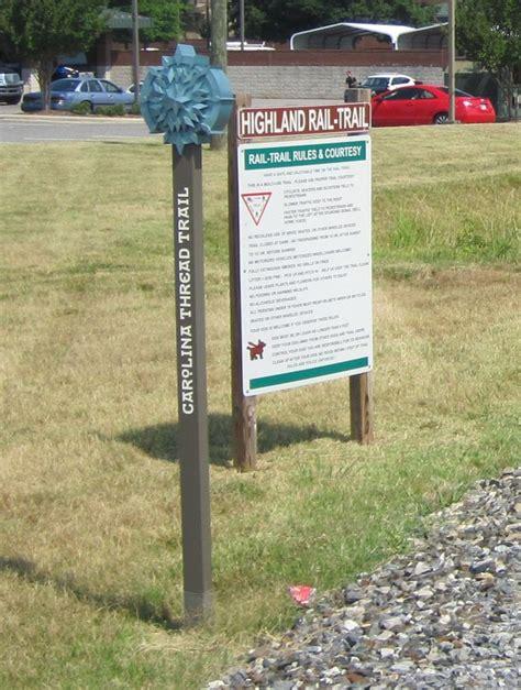 carolina thread trail map highland rail trail downtown sidewalk connection