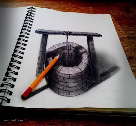 3d drawing 20 beautiful 3d pencil drawings and 3d works part 2