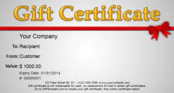 Free Christmas Gift Certificate Template Printable Gift Template Blog Free Gift Certificate Templates