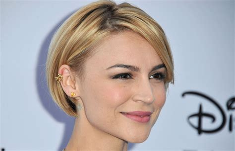 samaire armstrong shows samaire armstrong photos photos arrivals at the disney