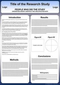 1m X 1m Poster Template by Free Powerpoint Scientific Research Poster Templates For