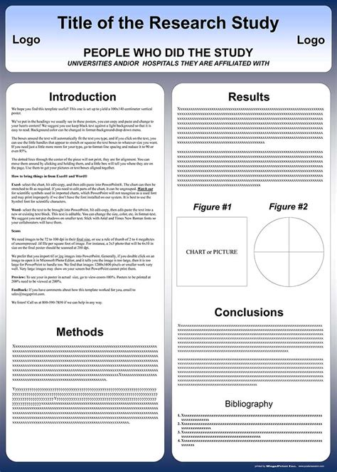 scientific poster template powerpoint gavea info