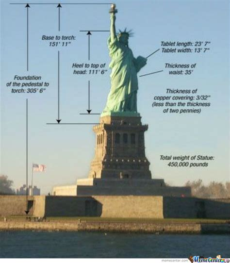 Statue Of Liberty Meme - fact about statue of liberty by oredus omm meme center