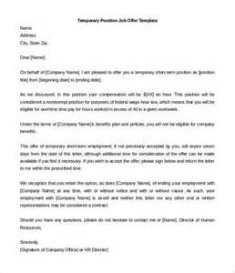 Letters To Offer Employment Offer Letter Template 54 Free Word Pdf Format Free Premium Templates