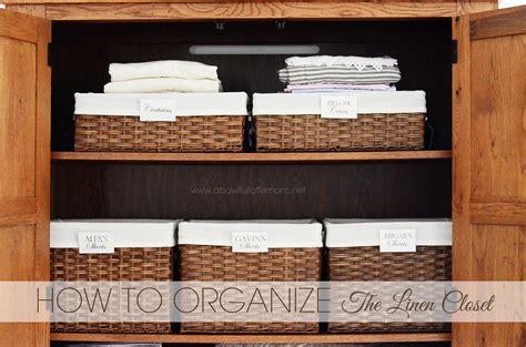Linen Closet Organization by Home Organizing Challenge Week 10 Linen Closet A Bowl