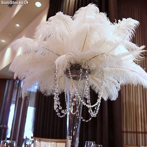 plumas para decoracion plumas de avestruz de decoraci 243 n de fiesta para boda