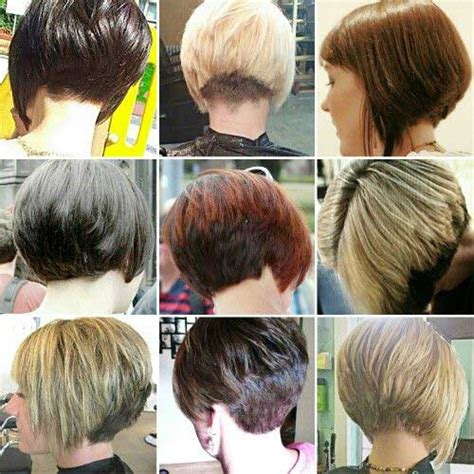 pictures of back of hair short bobs with bangs 15 back of bob hairstyles bob hairstyles 2017 short