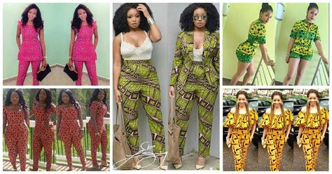 Ankara Designs For Women Trouser And Jacket Styles | complete ankara styles trouser inspired