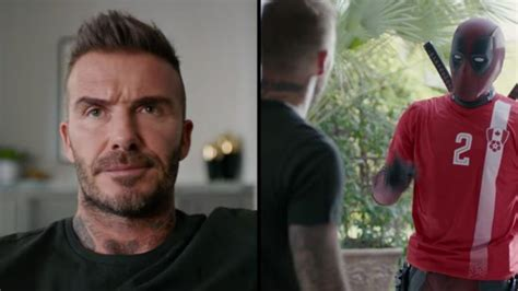 deadpool david beckham deadpool apologises to david beckham for that joke in the