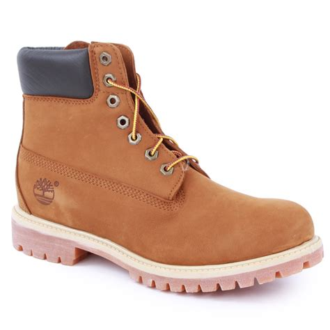 timberland 72066 mens boots in rust