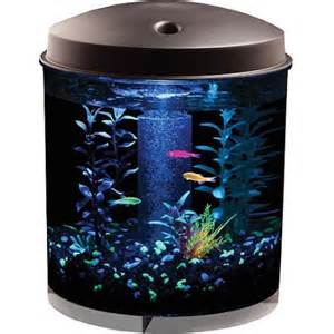 GloFish 2 Gallon 360 Aquarium Kit   Walmart.com