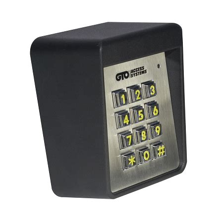 gto keypad f320 gto heavy duty wired keypad used on