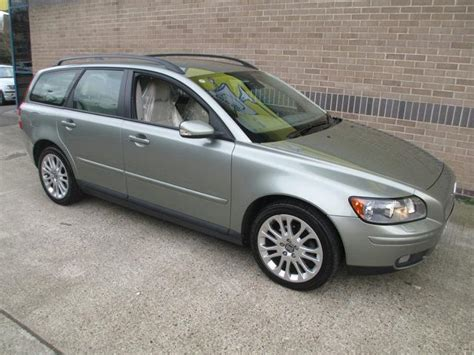 electric power steering 2006 volvo v50 auto manual used volvo v50 2006 petrol 1 8 se lux 5dr estate green edition for sale in norwich uk autopazar