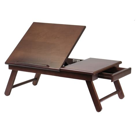 laptop table bed workstation portable laptop desk computer serving tray
