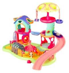 Com littlest pet shop whirl around playground playset toys amp games