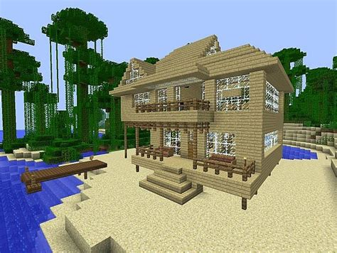 minecraft beach house minecraft beach house minecraft project