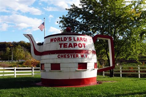 biggest virginia world s largest teapot the long way home