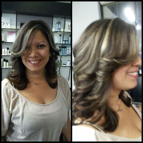 pictures of dark hair highlighted to blend gray beautiful subtle highlights to blend grays book online