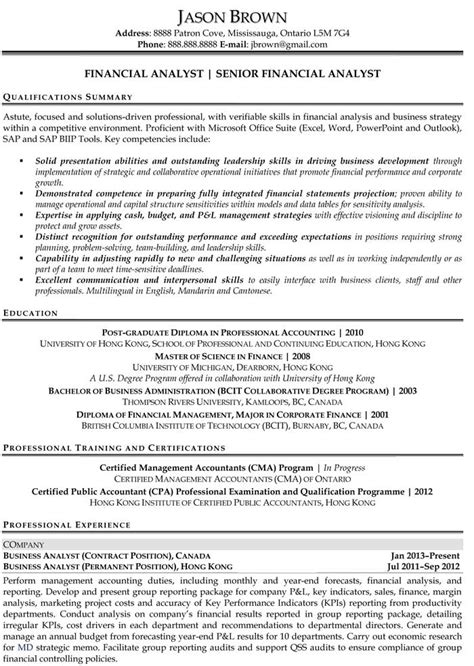 entry level finance resume sles entry level finance resume nardellidesign