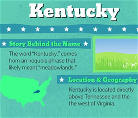 kentucky map facts kentucky facts facts about kentucky