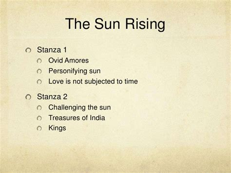 The Sun Rising Donne Essay by Donne