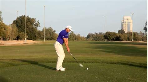 sergio garcia slow motion golf swing sergio garcia swing sequence golf monthly
